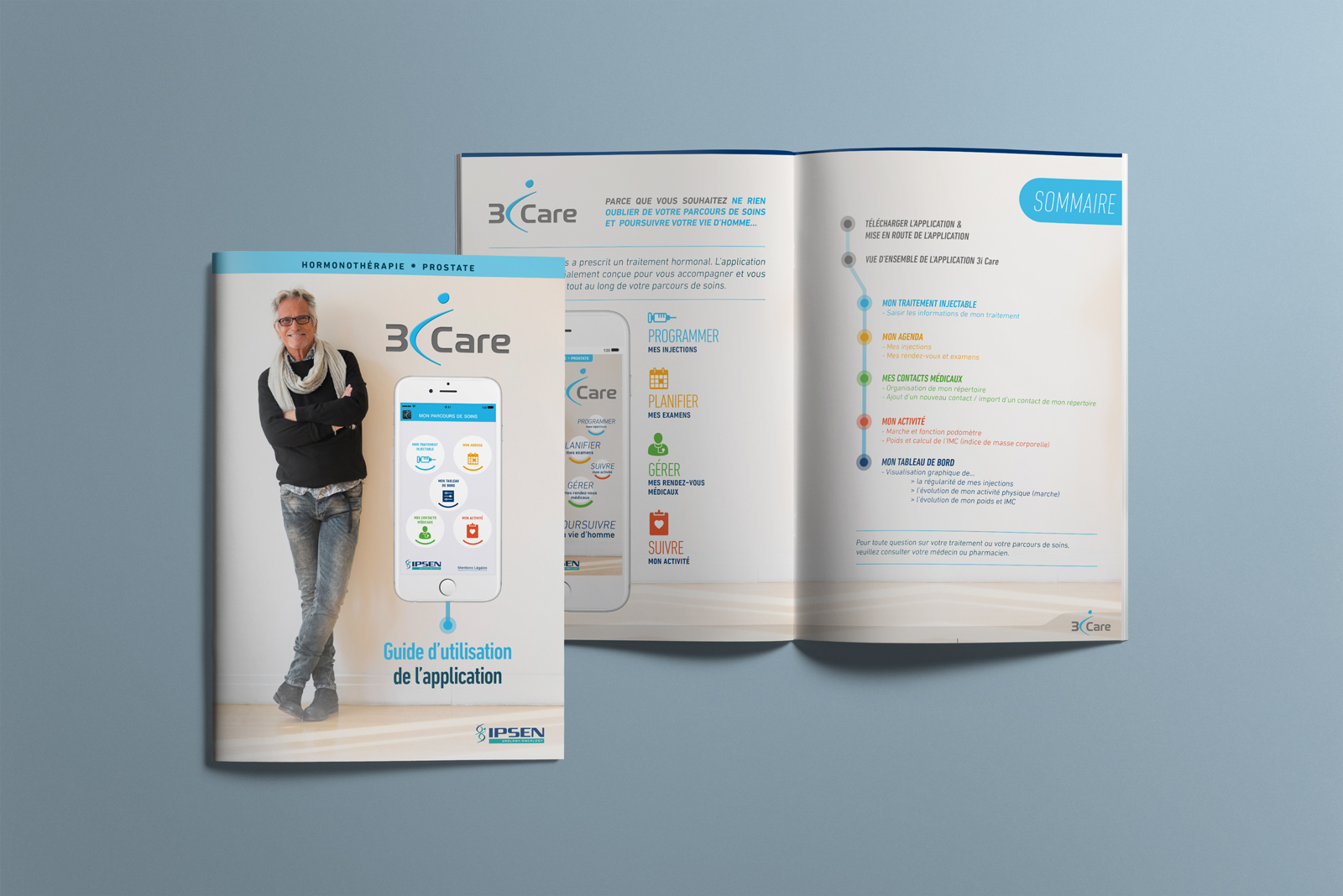 Guide patient - Application 3iCare